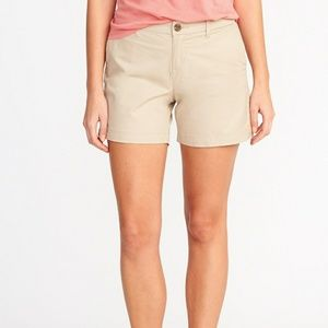 Old Navy Mid-Rise Everyday Twill Shorts